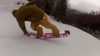 Butter tricks Snow Board 【SUNAMACHA】2012-2013