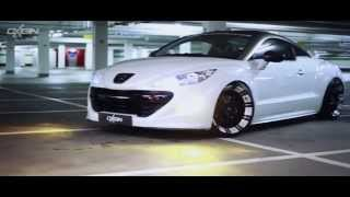 getlinkyoutube.com-Oxigin 14 Oxrock Alufelge White Foliert - Peugeot RCZ