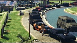 getlinkyoutube.com-GTA 5 Fast And Furious Car Meet (Paul Walker Tribute)
