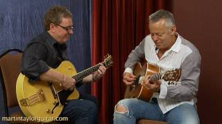 getlinkyoutube.com-Martin Taylor Interviews Tommy Emmanuel About Fingerstyle Guitar and Jazz Guitar Lessons