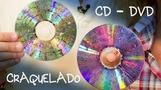 getlinkyoutube.com-CD o DVD Craquelado para Bisuteria o Decoracion
