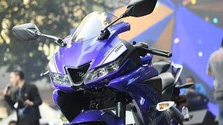 YZF-R15 ลุ้นเปิดไม่เปิดจอง ยอดอาจถล่มมอเตอร์โชว์ 2017 : motorcycle tv