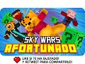 SKY WARS AFORTUNADO! | Minecraft Lucky Blocks Skywars con Exo, Macundra, Sarinha y Luh