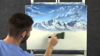 getlinkyoutube.com-Paint with Kevin Hill - Lake in the Mountains