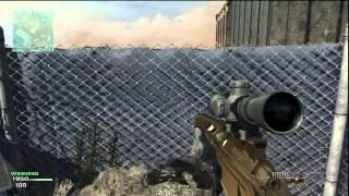 getlinkyoutube.com-Modern Warfare 3: 1v1 Quick Scope against raging trash talker