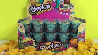 getlinkyoutube.com-Shopkins Season 3 Palooza  Limited Edition Hunt Blind Baskets Full Box Unboxing | PSToyReviews