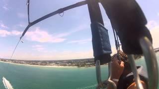 getlinkyoutube.com-Parasailing along Siesta Key Beach