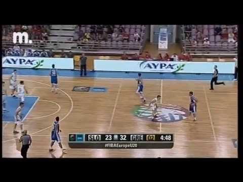 Lefteris Bochoridis - Eurobasket U20 2014 (2nd Round)
