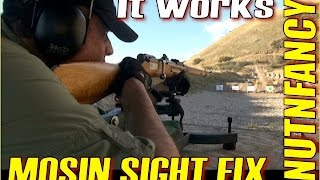 getlinkyoutube.com-Fix Your Mosin Nagant Sights Once and For All