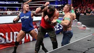 Team Raw vs Team SmackDown [ Elimination match Highlights ] - Survivor Series 19/11/2017