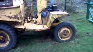 Lister diesel dumper cold-starting after long period un-used