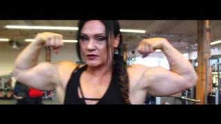 getlinkyoutube.com-Impressive Female Bodybuilder - Jay Fuchs (1/3)