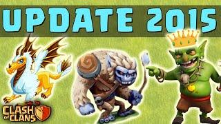 getlinkyoutube.com-Clash of Clans - 2015 NEW UPDATE! - New Character (Yeti, Goblin Hero) & Townhall 11! UPDATE Wishlist