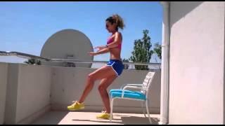 Antrenament pe balcon - Carmen Bruma