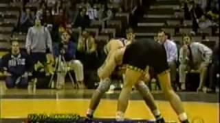 getlinkyoutube.com-Eric Juergens (Iowa Wrestling) vs Scott Moore ( Penn State Wrestling) 2000