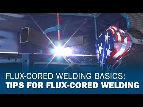 Flux Cored Welding Basics