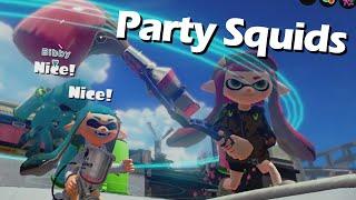getlinkyoutube.com-Party Squids! Splatoon Fun