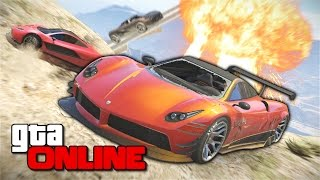 getlinkyoutube.com-GTA 5 Online (PC) - Экстра-подъём на Чилиад! #134