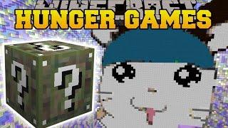 getlinkyoutube.com-Minecraft: GIANT HAMSTER CAGE HUNGER GAMES - Lucky Block Mod - Modded Mini-Game