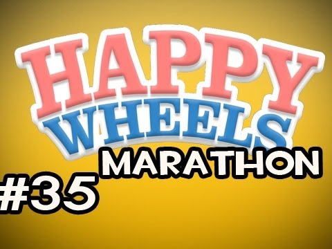 Happy Wheels MARATHON w/Nova Ep.35 - It Keeps Happening....AGAIN