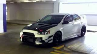 getlinkyoutube.com-Evo X RS With 491HP 681Nm Torque HKS SSQV IV BOV Sound & Walk Around.