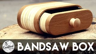 getlinkyoutube.com-Bandsaw Box Build How To | Crafted Workshop