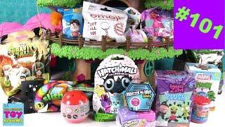 getlinkyoutube.com-Blind Bag Treehouse #101 Unboxing Hatchimals Shopkins MH Trolls Disney | PSToyReviews