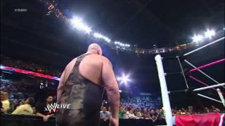 getlinkyoutube.com-Big Show knocks out Brodus Clay and Tensai: Raw, Sept. 24, 2012