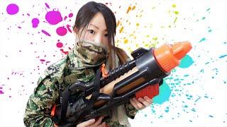 getlinkyoutube.com-ムカついたから巨大水鉄砲でやっつけてやる!!