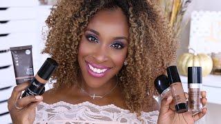 getlinkyoutube.com-BEST Liquid Foundations For Women of Color! | Jackie Aina