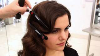 getlinkyoutube.com-1920s Inspired Faux Bob | Updo Hairstyle Tutorial