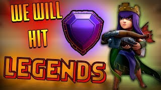 We will be in LEGENDS today !! || LIVE || Clash of Clans