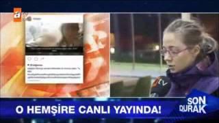 Selfi Çeken Hemşire Eren Gençer Özür Diledi