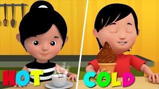The Opposites Song | 3D Nursery Rhymes For Kids | Learn Opposites From Kids Tv