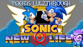 getlinkyoutube.com-Pootis Lulzthrough - Sonic 1: My New Life (I'm not joking about the title)