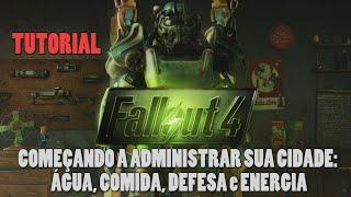 getlinkyoutube.com-Fallout 4 TUTORIAL - Comida, Água, Defesa e Energia. Como começar a sua cidade!