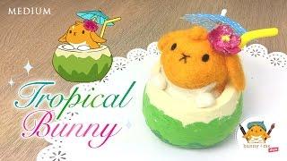 DIY: Tropical Bunny - Collab with Bunny+Me Show!