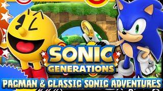 getlinkyoutube.com-Sonic Generations PC - (1080p 60FPS) Pacman & Classic Sonic Adventures Mod