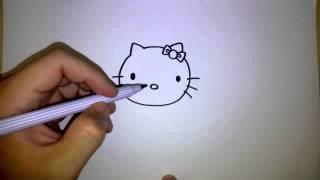 getlinkyoutube.com-คิตตี้ สอนวาดรูป การ์ตูน คิตตี้ by วาดการ์ตูนกันเถอะ