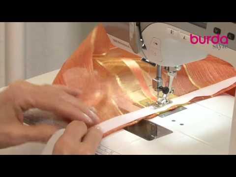 Come fare una tenda a vetro fai da te mania for Cucire tende a vetro