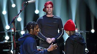 getlinkyoutube.com-twenty one pilots & A$AP Rocky - MTV VMA's 2015 (Full Performance) 1080p HD