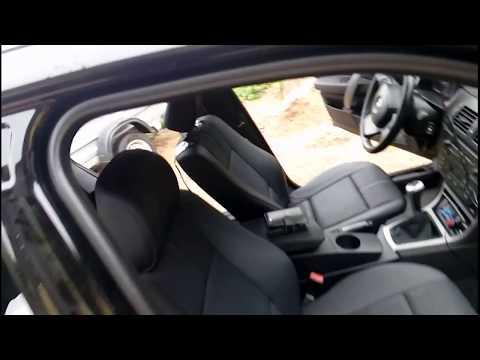 Снятие обшивки потолка и установка лееров BMW X3E83..