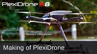 PlexiDrone Backer Tribute   Making of the Plexi Drone Product Line by DreamQii (feat. PlexiDrone X8)