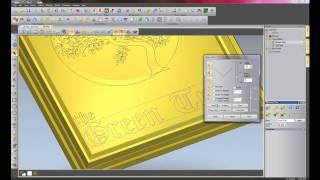 getlinkyoutube.com-Green Tree - Signmaking With ArtCAM