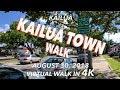 Kailua Town Walk 8/30/2018 [4K]