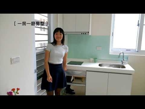 新莊新豐社會住宅房型介紹:一房一廳