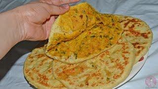 getlinkyoutube.com-خبز محشي بدون فرن / البراتا الهندي مثل البطبوط معمر