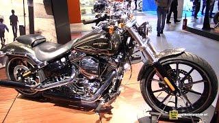 getlinkyoutube.com-2016 Harley Davidson Breakout - Walkaround - 2015 EICMA Milan