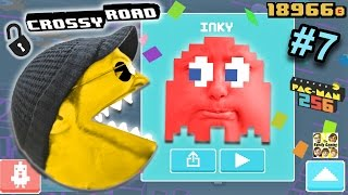 getlinkyoutube.com-Let's Chomp on Crossy Road! PACMAN 256 Secret Characters Update (FGTEEV DUDDY & LEX Part 7 GAMEPLAY)