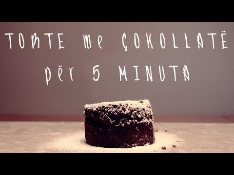 Torte me Çokollatë për 5 Minuta - Filmuar me Nikon D3200